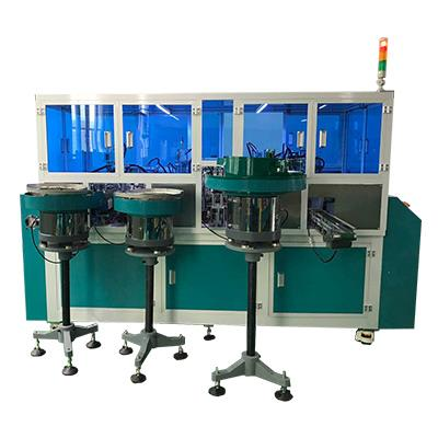 Straight liquid pen automatic filling assembly machine